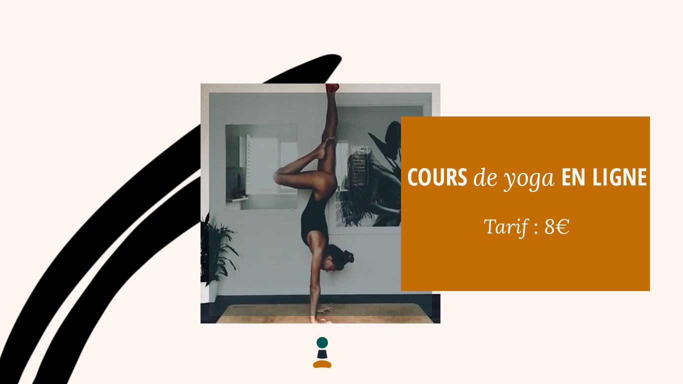 Cours de yoga en ligne - Pensez à reverser - 8 euros - Yogissime